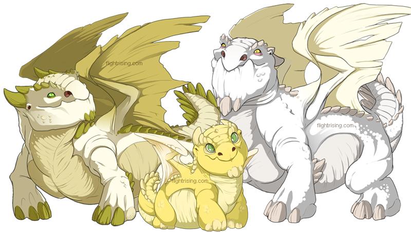 Flight Rising: Snapper Dragons by neondragon