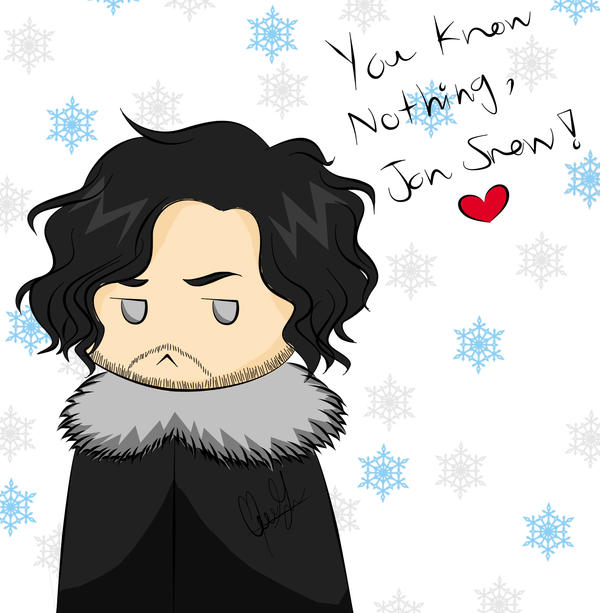 You Know Nothing, Jon Snow... by Alice-Pandora