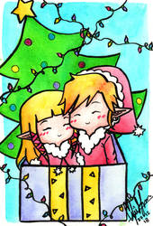 Zelda Secret Santa 2018 by Alice-Pandora