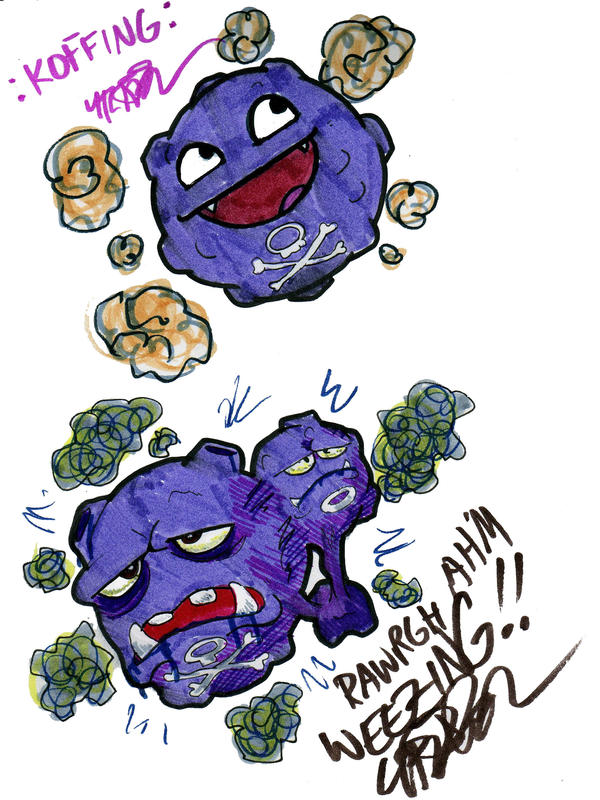 koffing and weezing koffing and weezing known in japan as dogas ド ...