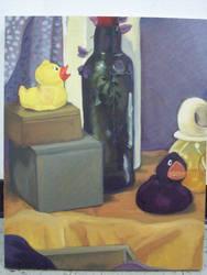 Violet + Yellow Palette