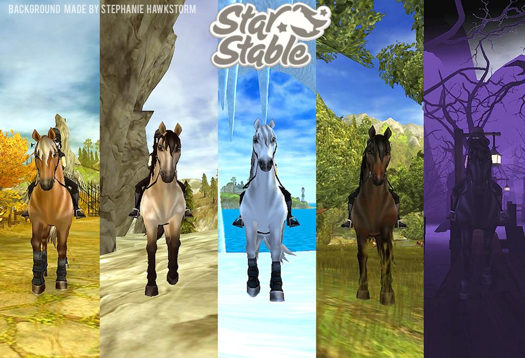 Star Stable Morgan Desktop Background By DieselPaws On