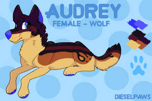 Audrey - 2017 Reference Sheet