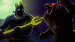Ursula vs. Goku