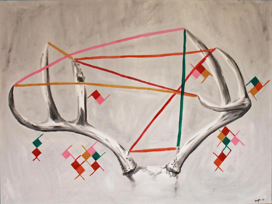 Geometric Antlers by FranklymyDeer