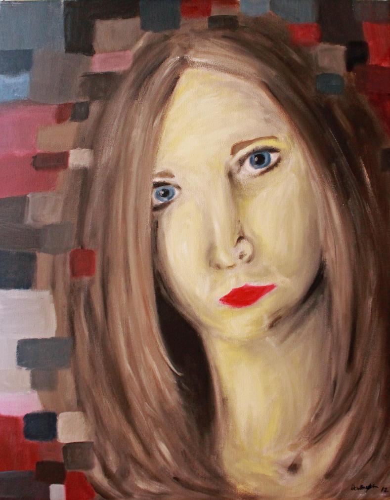 Self Portrait by FranklymyDeer