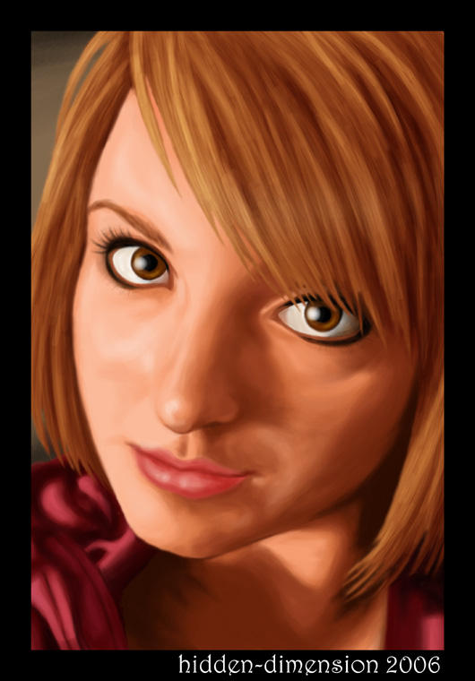 Self Portrait by hidden-dimension