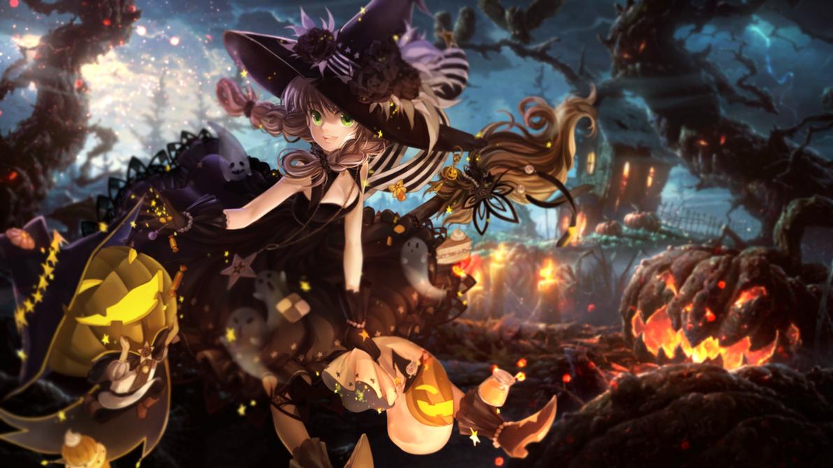 halloween free download by himekoartwork