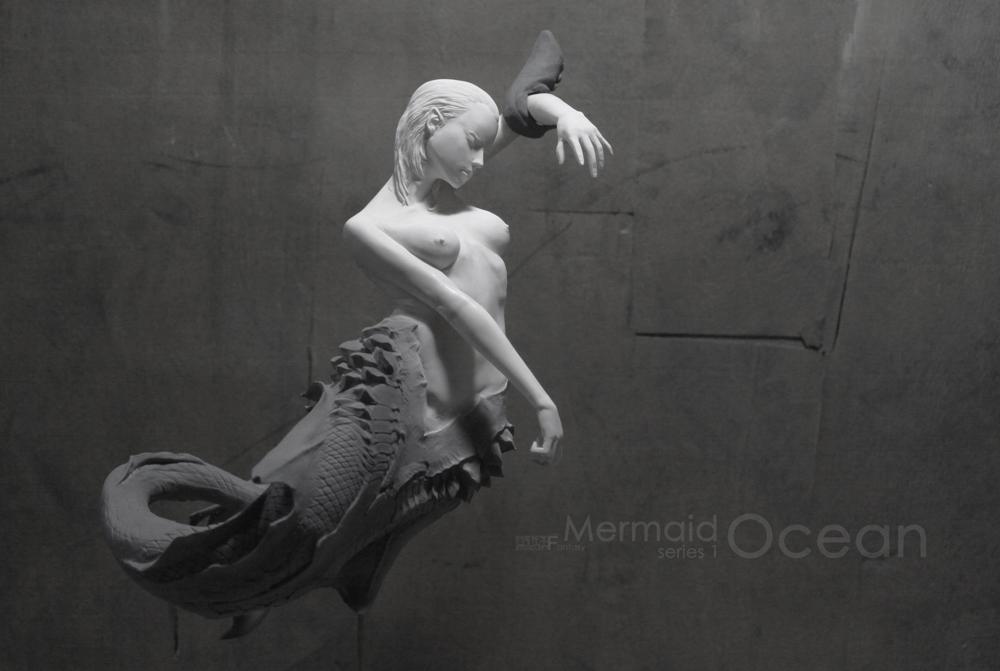 Mermaid series 1 OCEAN by STONELEFT