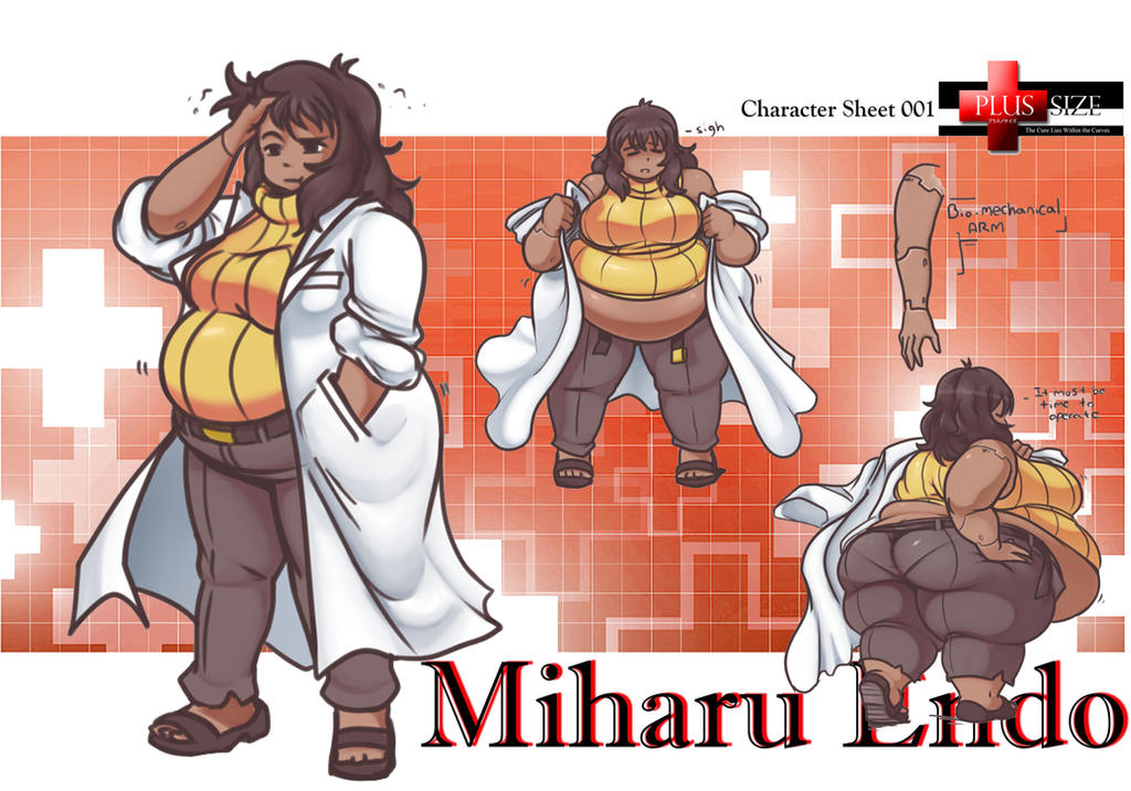 Character Sheet 001 - Dr Miharu Endo by Dr-Black-Jack
