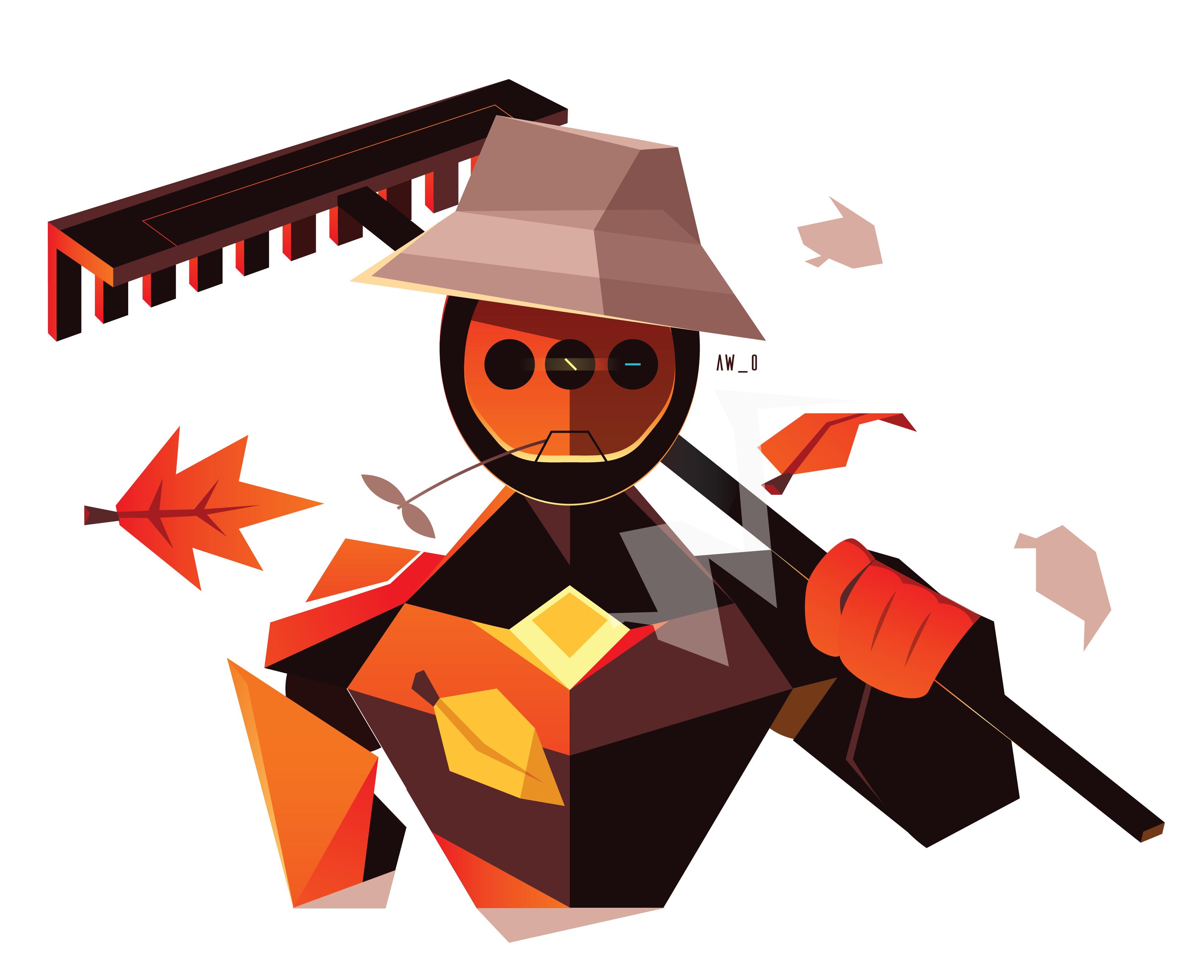 Robo-Raker by Aw0