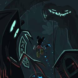 Epic Mickey - Blue Valor