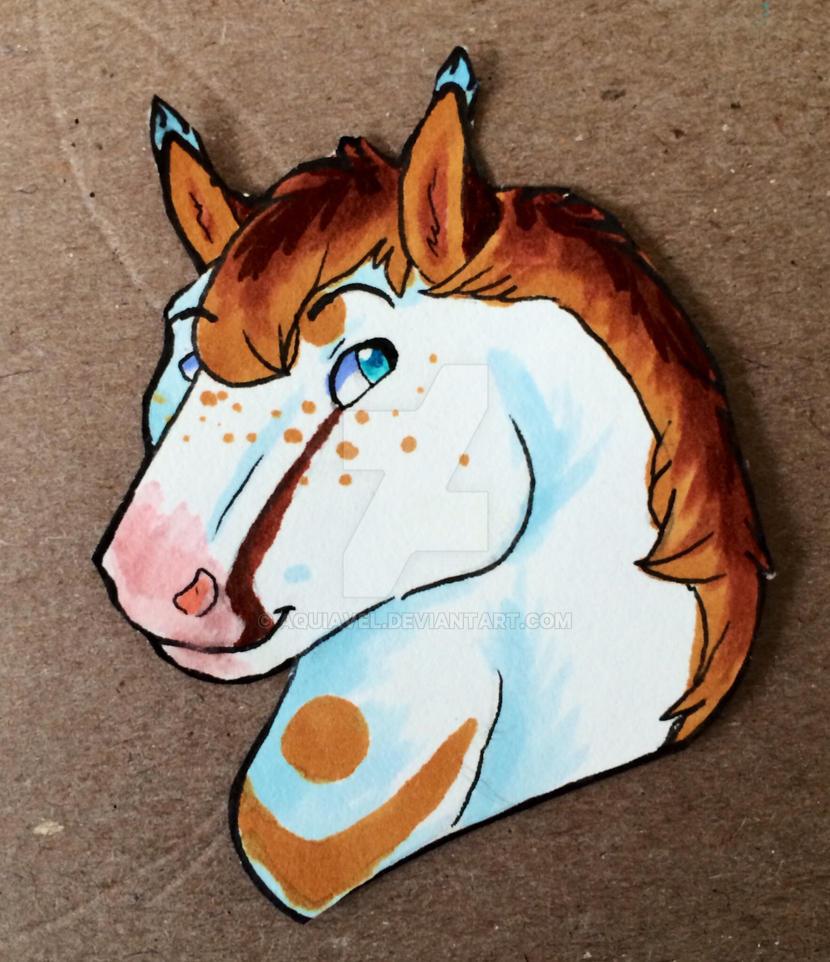Horse Aqui by Aquiavel