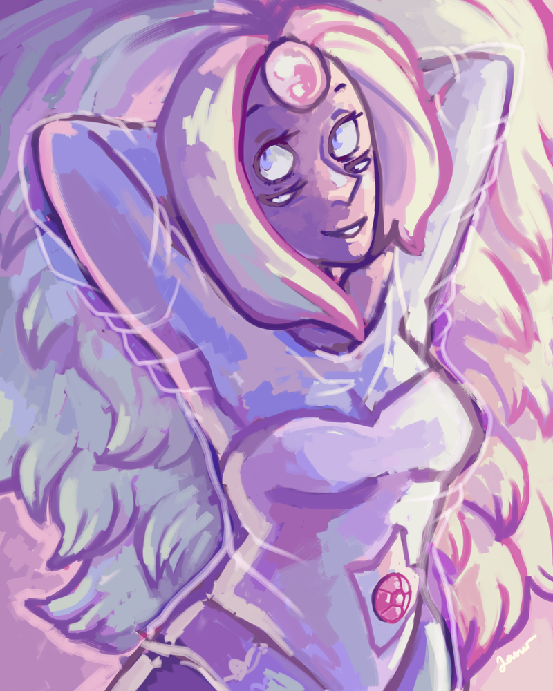 I'm loving this second Steven bomb so much! Today's episode was wonderful; I just adored Greg and Rose's interactions. and Rainbow Quartz UGH so beautiful I needed to draw her design. ;n; I hope we...