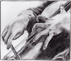 Cello Hands by HollyDunnCello