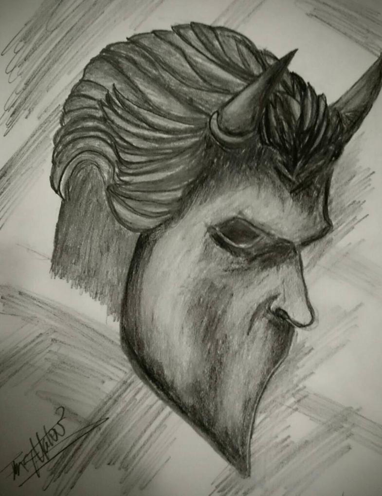 Nameless Ghoul  by d4rkhe4vn