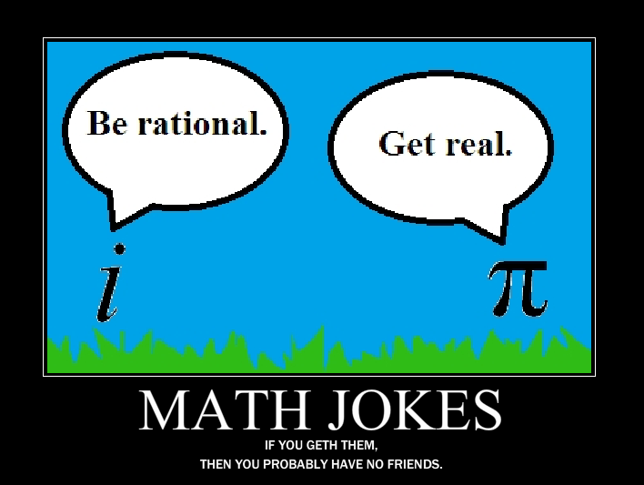 Math Jokes Demotivational
