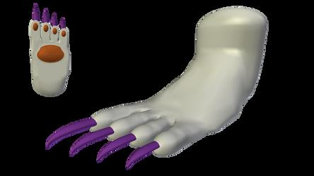 Felicia: Catwoman Form (Foot) - Alt. Palette #1