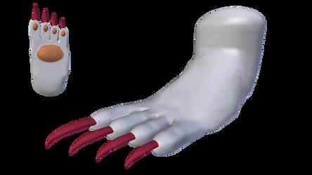 Felicia: Catwoman Form (Foot) - Alt. Palette #2