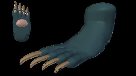 Felicia: Catwoman Form (Foot) - Alt. Palette #3