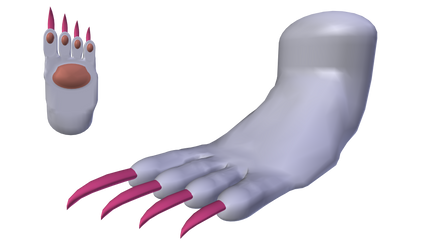 Felicia: Catwoman Form (Foot) - Alt. Palette #4