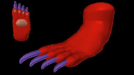Felicia: Catwoman Form (Foot) - Alt. Palette #6