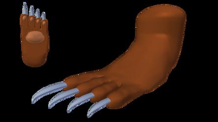 Felicia: Catwoman Form (Foot) - Alt. Palette #7