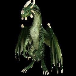 DAZ 3D (Studio): Bipedal Dragon [iRay Render Test]
