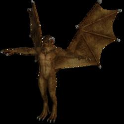 DAZ 3D (Studio): Male Gargoyle [iRay Render Test]