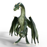 DAZ 3D (Studio): Bipedal Dragon [iRay Render] (v2)
