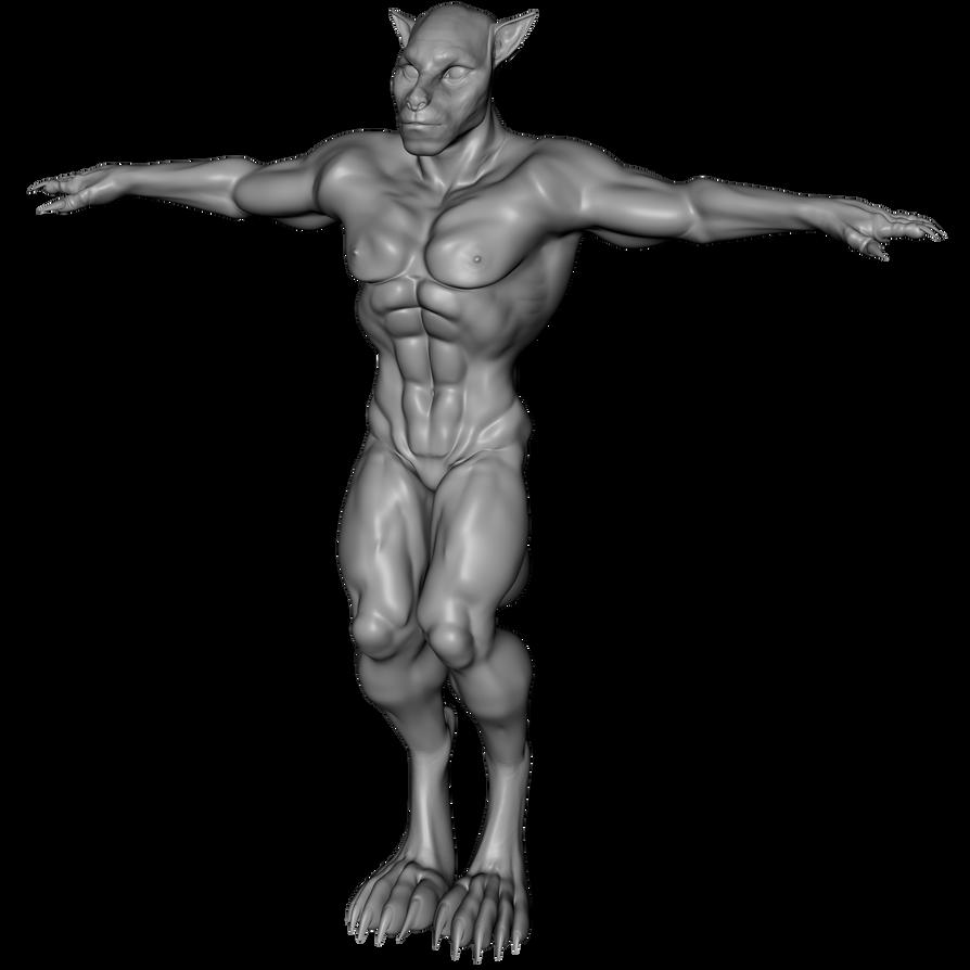 Werewolf (CC) (Male) (G3M) [Clone] by Blood-PawWerewolf