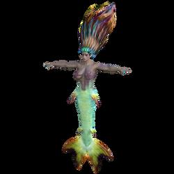 Mermaid (G3F) [NVIDIA iRay]