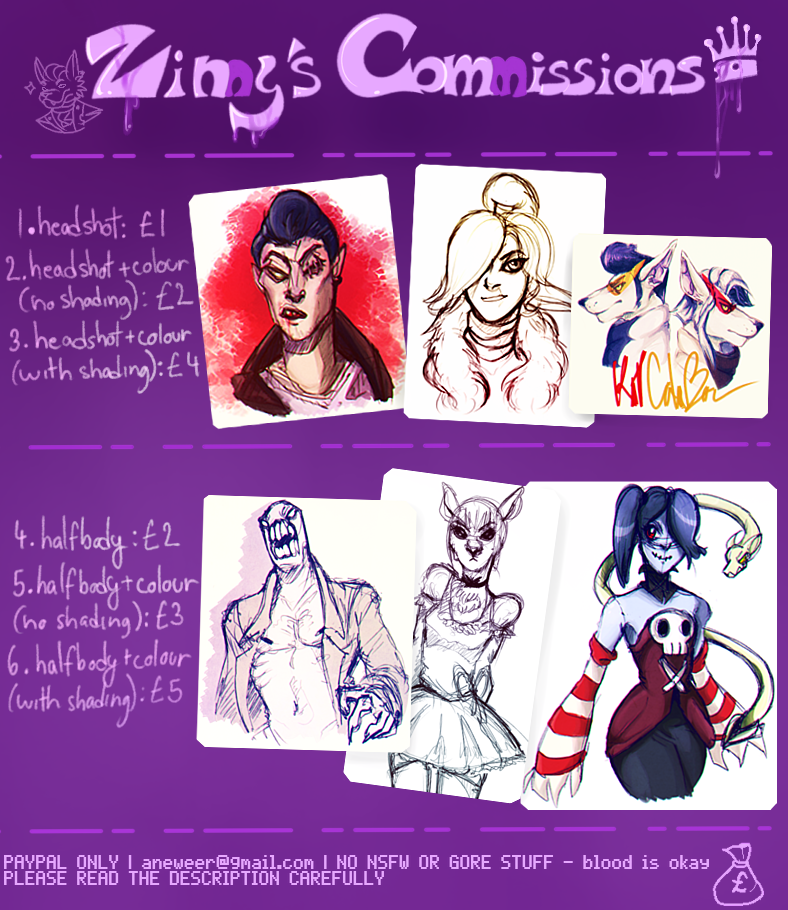 Commissions info by The-Outsiders-Butt