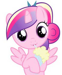 Princess Cadence Filly's Milkshake!