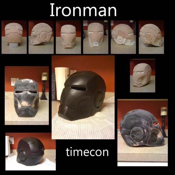 Ironman helmet sculpt by TIMECON