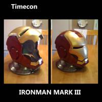 Ironman mark III helmet by TIMECON
