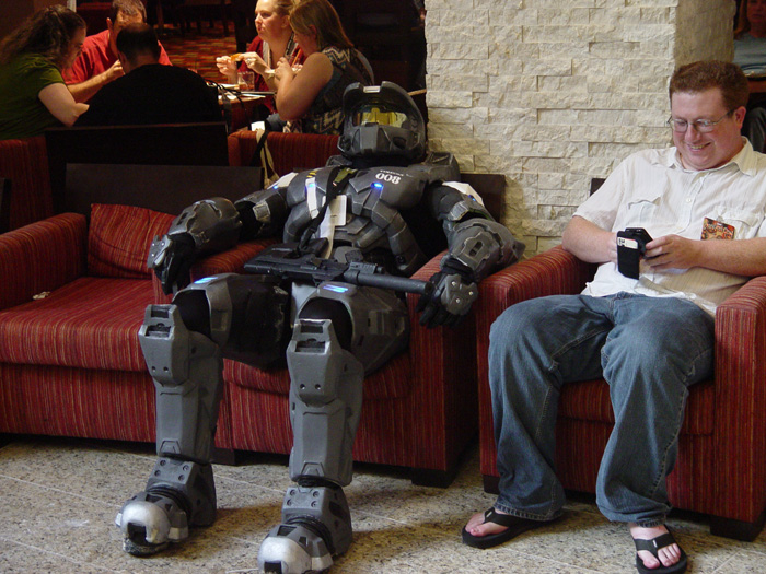 spartans get lazy too by TIMECON