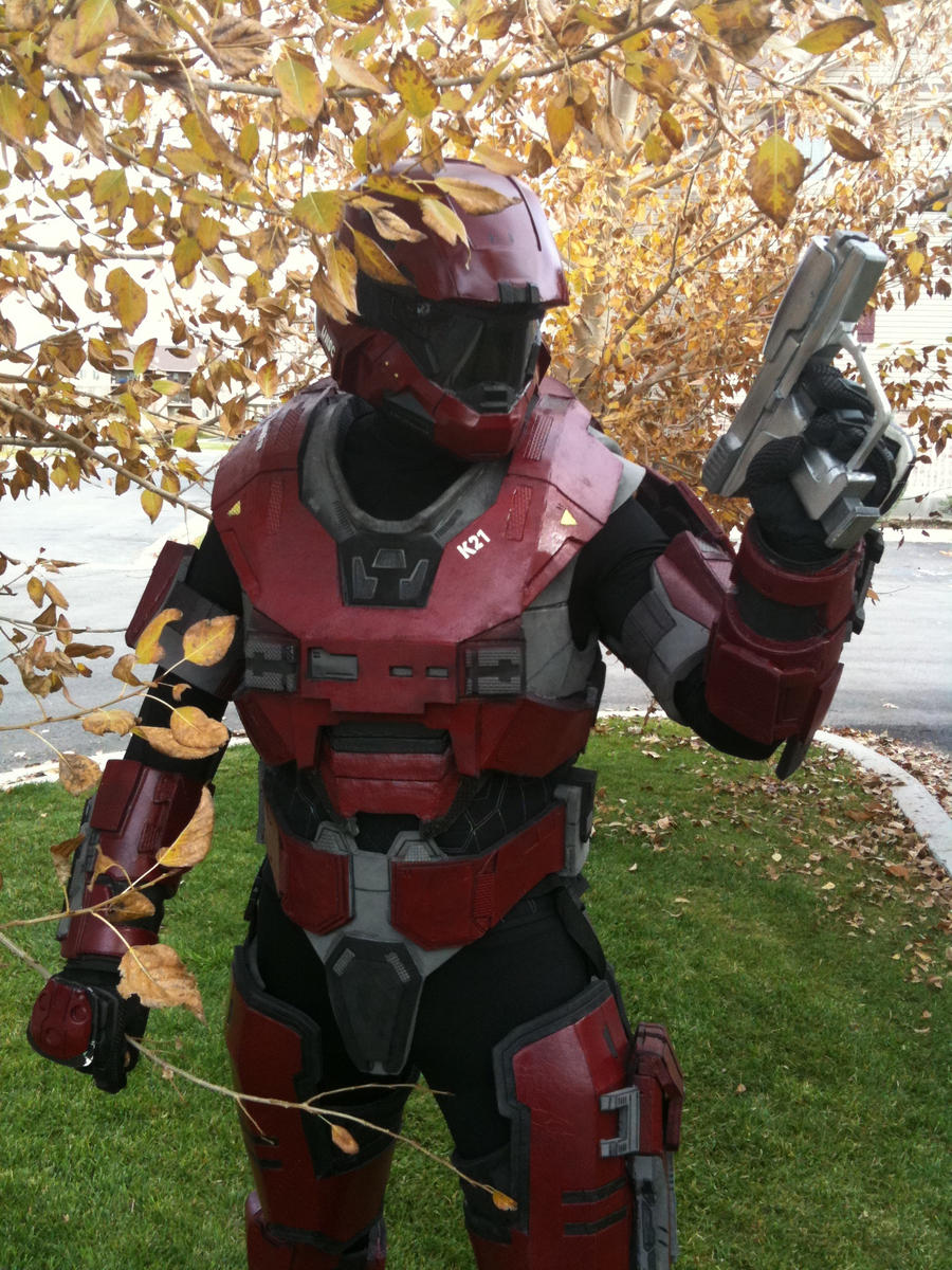 & Halo Reach Armor by TIMECON on DeviantArt