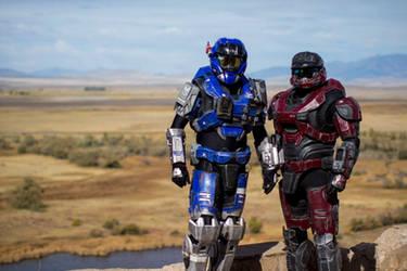 Halo best buddies by TIMECON