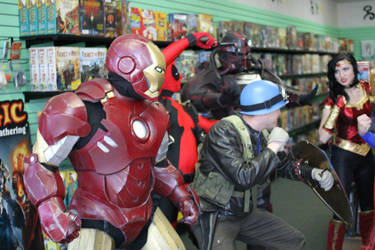 Ironman for charity by TIMECON