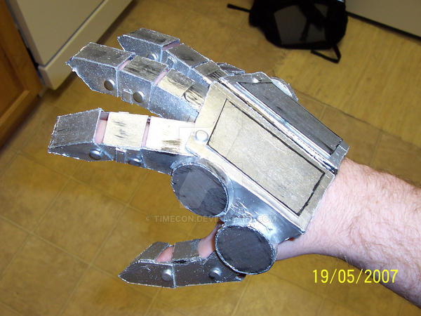 optimus prime costume hands by TIMECON