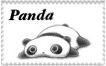 Panda Stamp by RainbowPanda1699