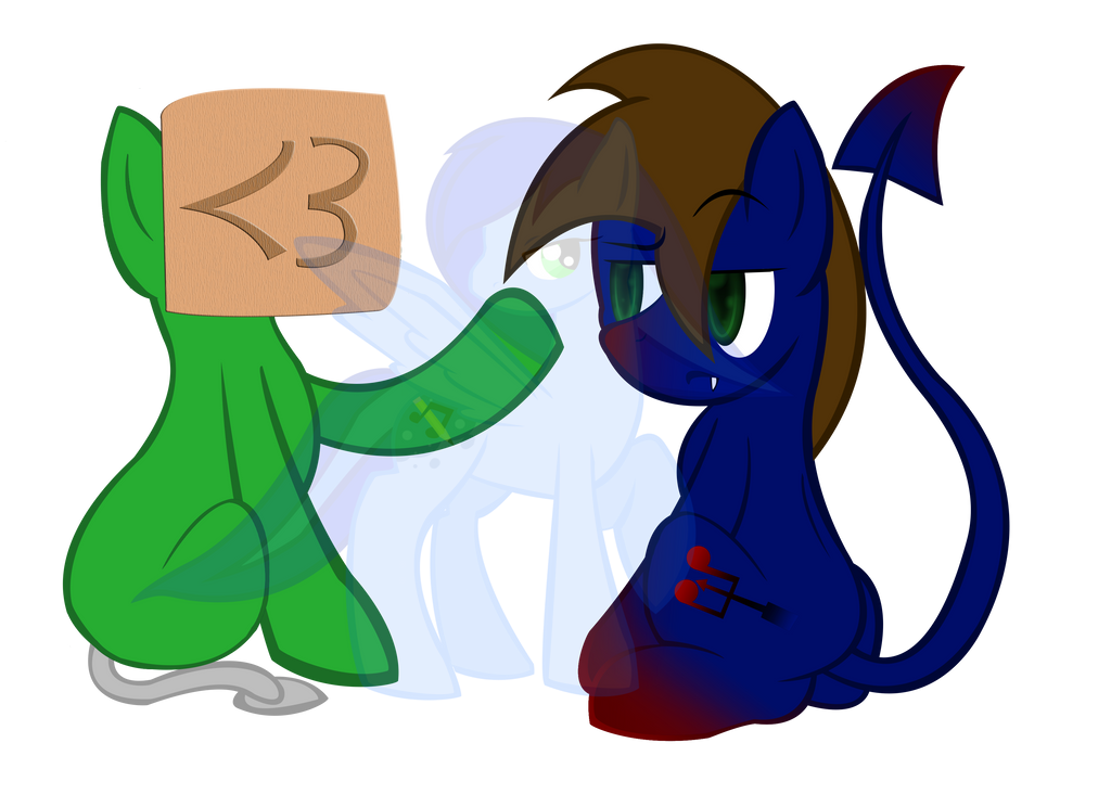 Pickynotes and Facedesk by SpeedyandRose