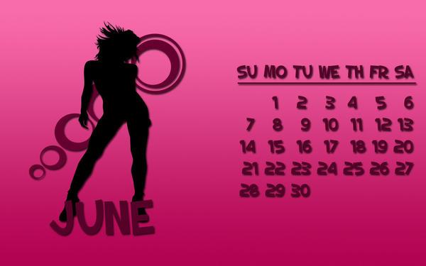 Dytbat.dk's 2009 Calendar Jun by Dytbat