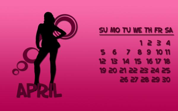 Dytbat.dk's 2009 Calendar Apr by Dytbat