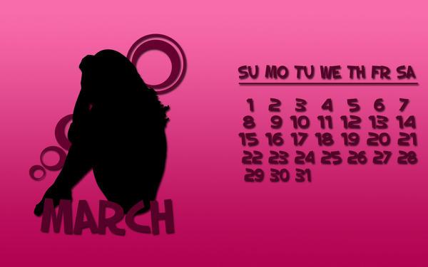 Dytbat.dk's 2009 Calendar Mar by Dytbat