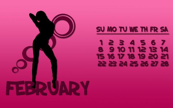 Dytbat.dk's 2009 Calendar Feb by Dytbat