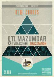 TL Mazumdar gig poster