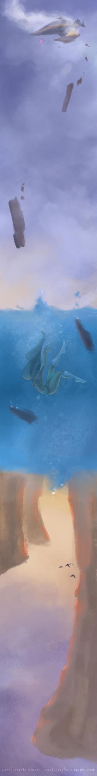 Into the ocean end it all... by zealousceles