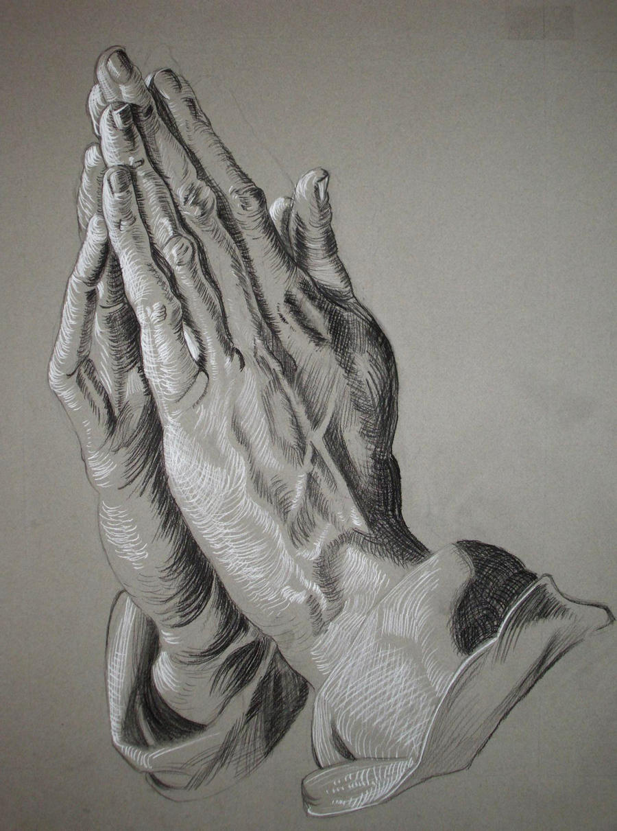Praying drawings